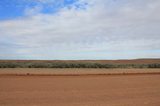 The road from Roxby Downs to Marree